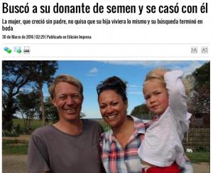 Donantes buscando esperma descendente